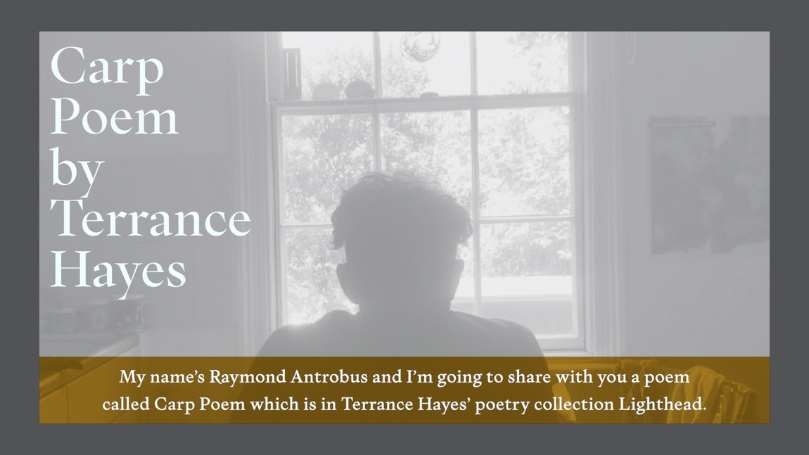 Raymond Antrobus Poem 2