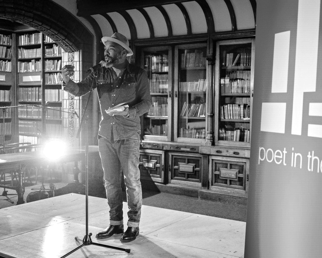 Poet in the City Ant Robling