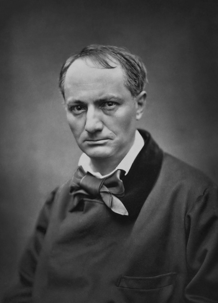 Baudelaire Charles bw