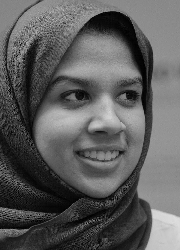 Fathima Zahra bw