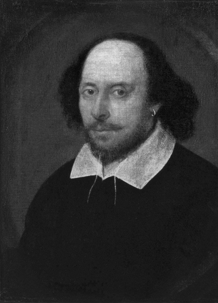 Shakespeare W Illiam bw