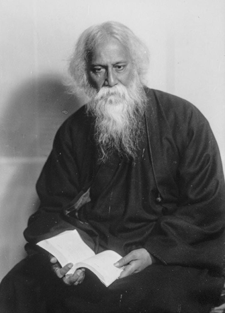 Tagore Rabindranath bw
